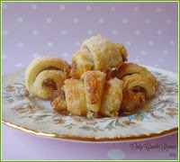 Rugelach with a Sweet Mincemeat Filling