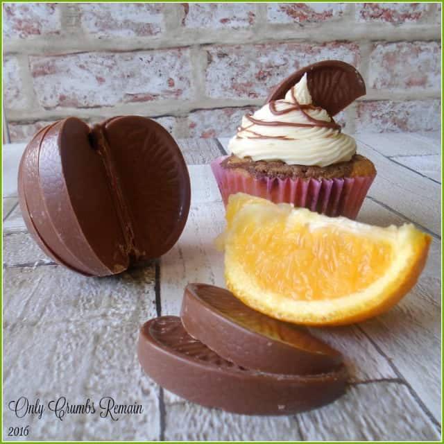 How to make Terry's Chocolate Orange Marbled Cupcakes
