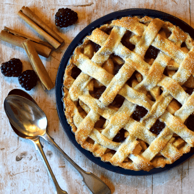 How to make a lattice crust pie