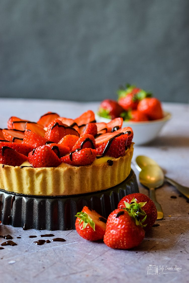 Homemade Strawberry Tart recipe