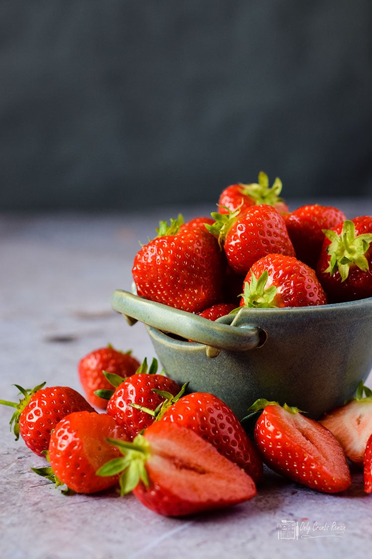 Fresh UK grown strawberries